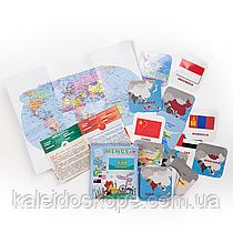 Настольная игра мемори Азия. Часть 1, серия «Страны, столицы, флаги»