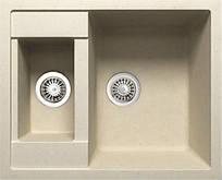 Гранитная мойка на кухню Adamant Duplex 615х500х200 (разные цвета)