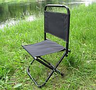 Рыбацкий раскладной стул со спинкой