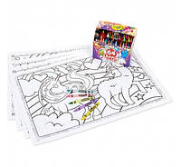 Набор для рисования Крайола Единорог и карандаши 64 шт. Crayola Unicorn