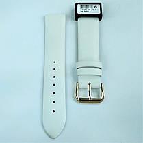 20 мм Кожаный Ремешок для часов CONDOR 241.20.09 Белый Ремешок на часы из Натуральной кожи, фото 2