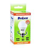 Лампа светодиодная DELUX BL60 7Вт 4100K Е27 белый, фото 2