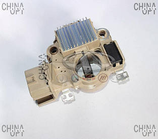 Реле регулятор генератора, шоколадка, BYD F3 [1.6, до 2010г.], 471Q-3701950SH, Unipoint