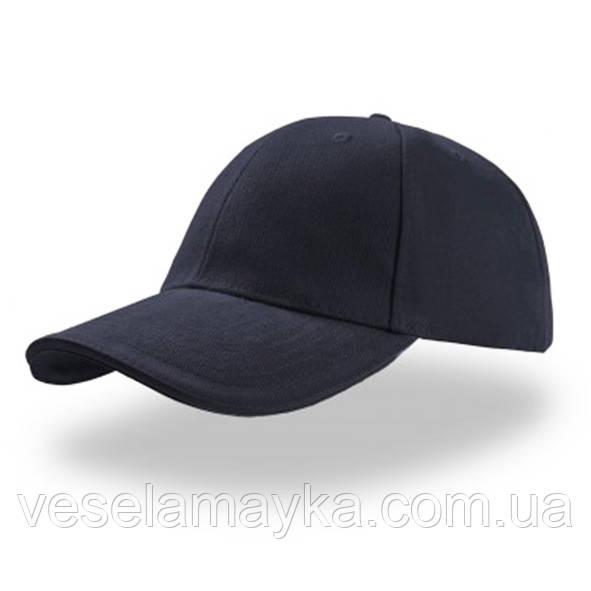Темно-синяя кепка-сэндвич