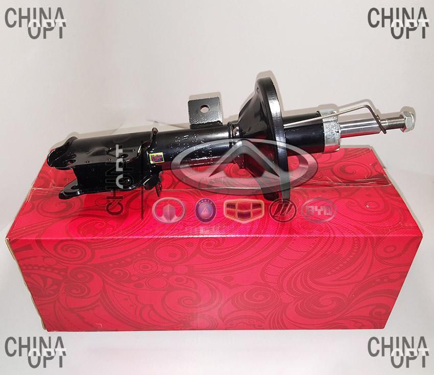 Амортизатор передний левый, газомасляный, Geely CK1 [до 2009г.], 1400516180, Aftermarket