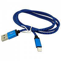 USB кабель iPhone Lightning WALKER C310 сене-черный