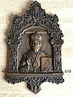 """Икона резная """"Св. Николай Чудотворец"""" от производителя, фото 1"""
