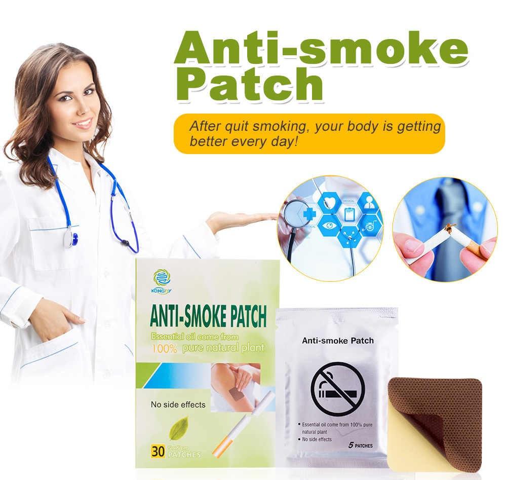 Антиникотиновый пластырь от курения Stop Smoking Patch - 1уп 5 шт