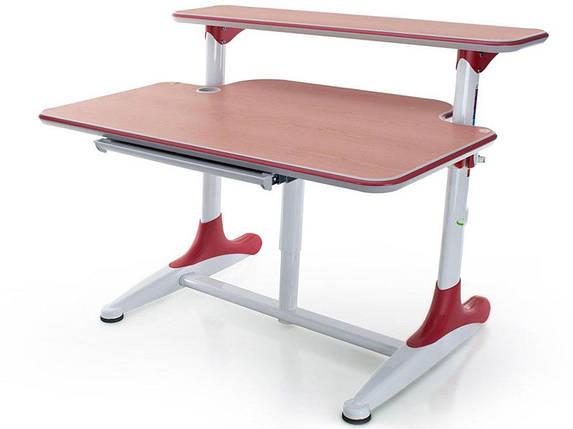 Детская парта растишка стол трансформер Mealux Platon BD-205 WR beech, фото 2