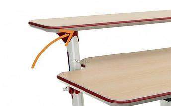 Детская парта растишка стол трансформер Mealux Platon BD-205 WR beech, фото 3