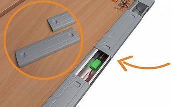 Дитяча парта растишка стіл трансформер Mealux Harvard BD-333 BG/Y Бук помаранчевий, фото 2