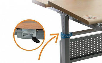 Детская парта растишка стол трансформер Mealux Miki TH-339 beech , фото 3