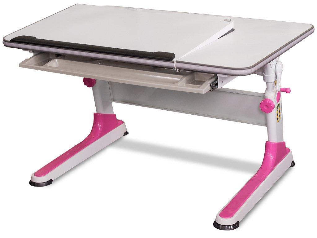 Детская парта растишка стол трансформер Mealux Monako BD-503 P Pink