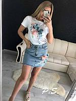 44322669d99d71 Юбка джинсовая +футболка в Украине. Сравнить цены, купить ...