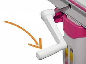 Комплект детская парта растишка стол трансформер + кресло растишка Evo-Kids Evo-50 PN Pink, фото 3