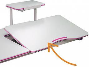 Комплект детская парта растишка стол трансформер + кресло растишка Evo-Kids Evo-40 BL (дерево) Blue, фото 3