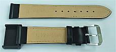 20 мм Кожаный Ремешок для часов CONDOR 515.20.01 Черный Ремешок на часы из Натуральной кожи, фото 3