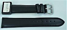 20 мм Кожаный Ремешок для часов CONDOR 515.20.01 Черный Ремешок на часы из Натуральной кожи, фото 2