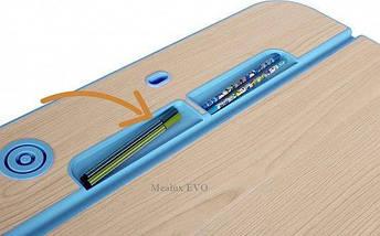 Комплект детская парта растишка стол трансформер + кресло растишка Evo-Kids Evo-03 Blue с лампой, фото 3