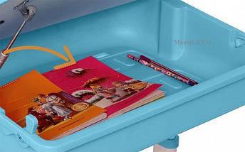 Комплект детская парта растишка стол трансформер + кресло растишка Evo-Kids Evo-03 Grey, фото 3