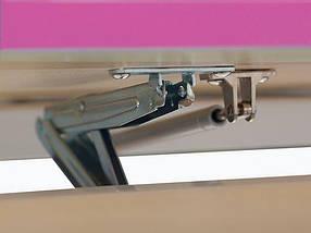 Комплект детская парта растишка стол трансформер + кресло растишка Evo-Kids Evo-17 Grey с лампой, фото 3