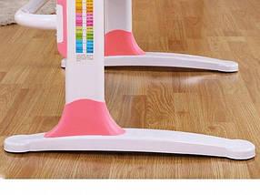 Комплект детская парта растишка стол трансформер + кресло растишка Evo-Kids Evo-19 Grey с лампой, фото 2