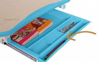 Комплект детская парта растишка стол трансформер + кресло растишка Evo-Kids Evo-05 Pink с лампой, фото 3