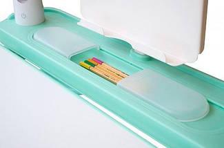Комплект детская парта растишка стол трансформер + кресло растишка Evo-Kids BD-04 XL New Blue, фото 3