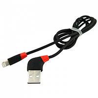 USB кабель iPhone Lightning WALKER C340 черный