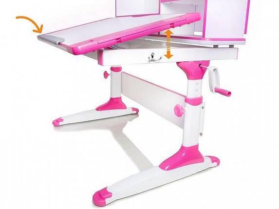 Детский стол парта растишка трансформер Evo-kids Evo-410 Bern Blue, фото 2