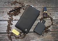 Кожаный клатч Gucci / Мужской клатч из натуральной кожи