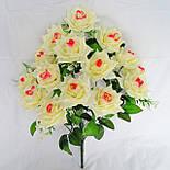 Букет роза остролистная  64см (10 шт в уп), фото 3
