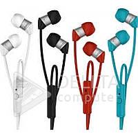 Наушники вакуумные с микрофоном AKG Y23 разные цвета, наушники AKG, вакуумные наушники, наушники затычки