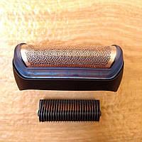 Режущий блок нож+сетка BRAUN 10B/20В для электробритв BRAUN Series 1 модель 170 180 190 czuZer тип 5728, 5729
