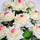 Букет роза остролистная  64см (10 шт в уп), фото 2