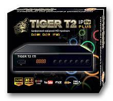 Ефірний цифровий ресивер Tiger T2 IPTV PLUS