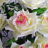 Букет роза остролистная  64см (10 шт в уп), фото 4