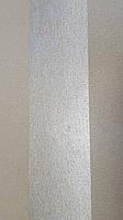 Обои виниловые на флизелиновой основе  Marburg 31378 Origin метровые полосы широкие серебряные коричневые