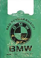 Пакет майка BMW LD 38*56 зеленый 50шт/уп
