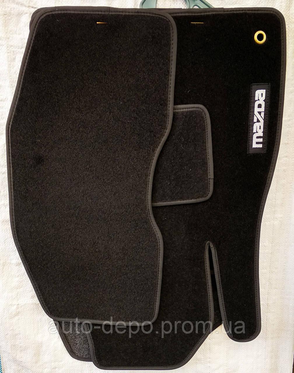 Тканевые автомобильные коврики MAZDA ( МАЗДА )