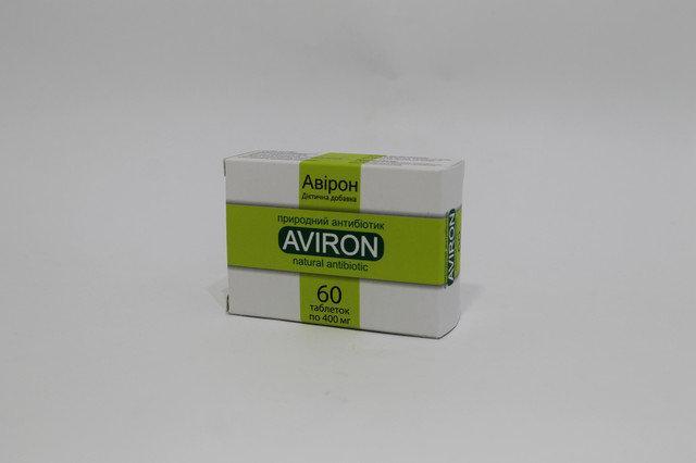 Авирон (антивир) Уссури-Флор - растительный антибиотик, 60 капс