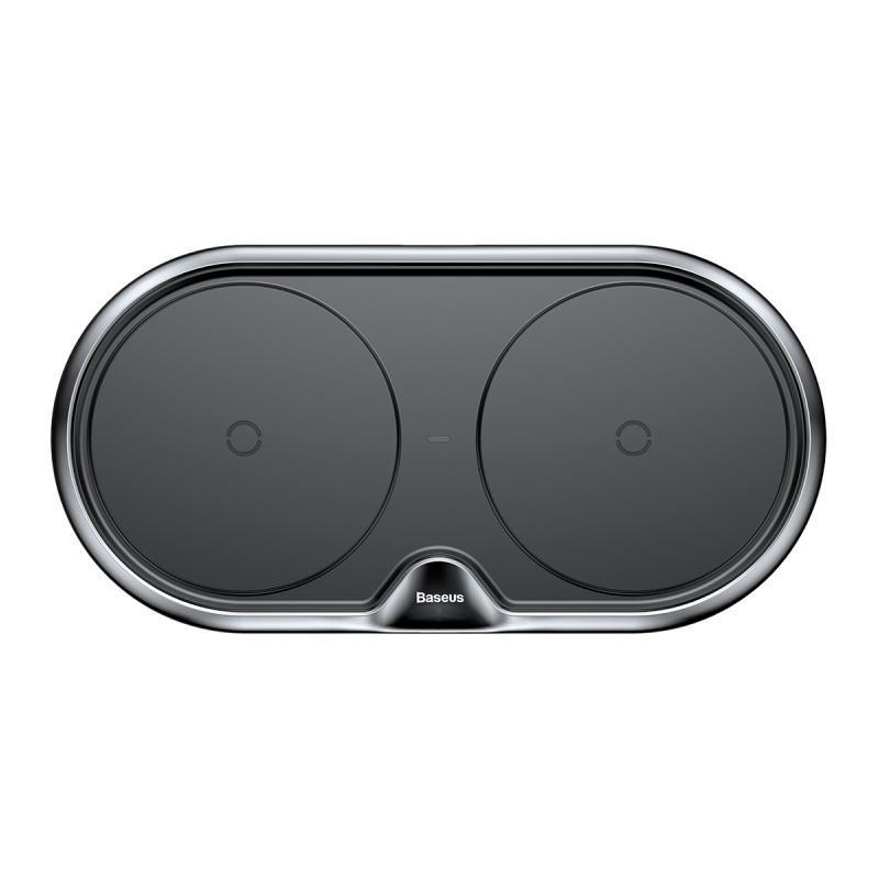 Беспроводное ЗУ Baseus Dual Wireless Charger (WXXHJ-A01) Black
