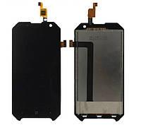LCD екран із сенсором для Blackview BV6000 Black, фото 1