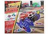 Монстр трак TRIX TRUX (Трикс Тракс) 1 машинки, фото 2