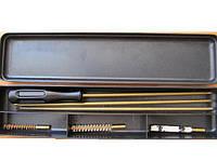 """Набор для чистки пневматики 4,5 мм """"BOX"""" Чистка пневматического оружия. Шомпол 3 насадки"""