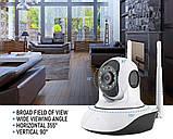 Wi-Fi / IP панорамна камера V380 Q5 IP 360 гр, фото 2
