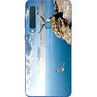 Чехол силиконовый с картинкой для Samsung Galaxy A9 (2018) SM-A920F Небо