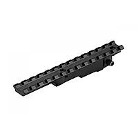 Кріплення на зброю. Планка D0025-WEAVER + шестигранник в комплекті.
