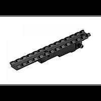Крепление на оружие. Планка  D0025-WEAVER + шестигранник в комплекте.