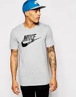 Футболка Nike серая